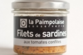 la Paimpolaise, filets de sardines aux tomates confites