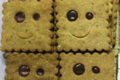 biscuits sourires framboise ou chocolat