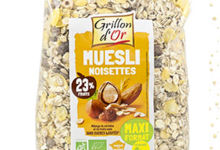 muesli noisettes