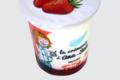 Ferme de Meul'n, Yaourt bio sur lit de fraise