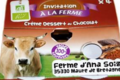 Ferme de Meul'n, Crème Chocolat Bio