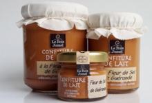 Le Bois Jumel, confiture de lait, Fleur de Sel de Guérande