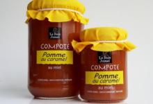 Le Bois Jumel, Compote Pomme Caramel au Miel