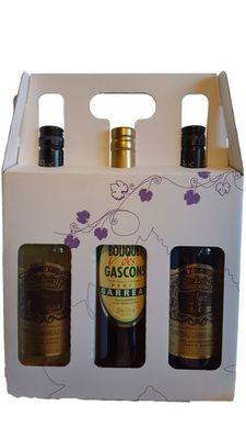 Special Noel : Valisette 2 Flocs Et 1 Bouquet Des Gascons