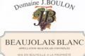 Domaine J Boulon, Beaujolais Blanc