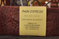 Pain d'épices nature