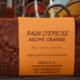 Pain d'épices aux aromes d'orange