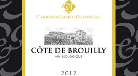 Caroline & Jacques Charmetant, côte de Brouilly