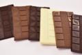 Tablettes de chocolats fins