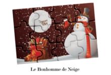 confiserie Gumuche,  Puzzles en chocolat de Noël