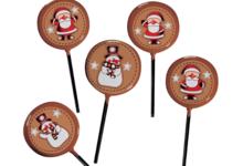 confiserie Gumuche,  Sucettes Noël chocolat
