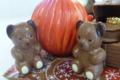 décoration de fête en chocolat