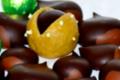 chocolaterie Delfine, les châtaignes et Pellous