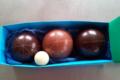 chocolaterie Delfine, boules de pétanque