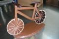 chocolaterie Delfine, vélo en chocolat