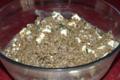 Salade de lentilles rose ou verte au fromage frais.