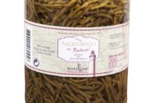 Rivesaline, Salicornes au naturel