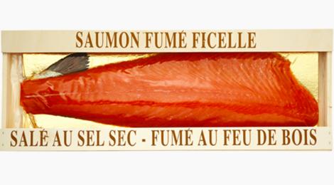 Saumon « Ficelle » origine Norvège ou Écosse