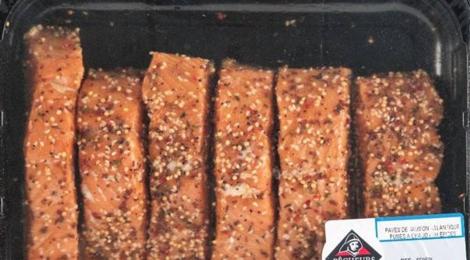 Pavés de saumon fumé mi-cuit norvégien aux épices douces