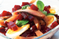Salade de  Harengs aux  betteraves rouges