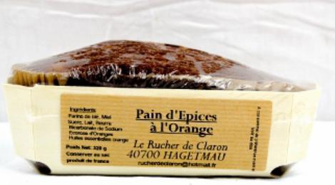 Le rucher de Claron,   Pain d'épice à l'orange