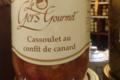 Le Gers gourmet, cassoulet au confit de canard