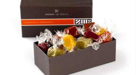 henri Le Roux, coffret caramels assortis