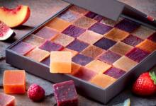 henri Le Roux, coffret pâtes de fruits