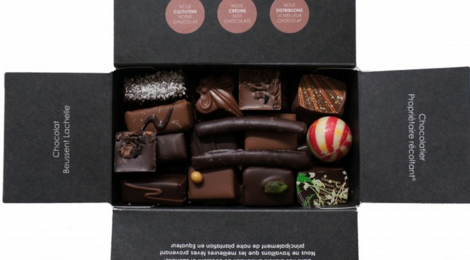 Chocolat Beussent Lachelle, Ballotins de Noël