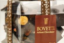 Bovetti Chocolatier, Mendiants au chocolat noir