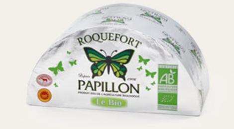 Roquefort AOP Papillon issu de l'agriculture biologique