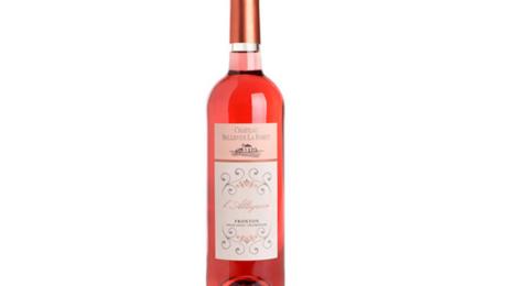 Chateau Bellevue La Forêt, l'allégresse rosé