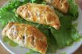 Chausson feuilleté au Roquefort et aux noix