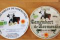 Camembert de Normandie AOP Bio