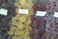 chocolats Glatigny, Les Pâtes de fruits