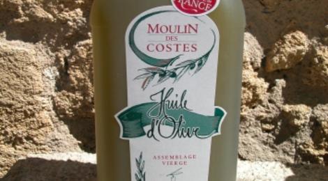 Moulin des Costes, huile d'olive fruité vert