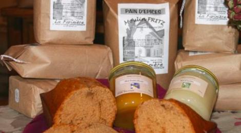 moulin fritz, préparation pain d'épices