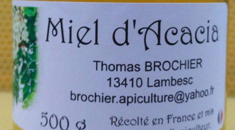 Thomas Brochier, miel d'Acacia