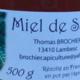 thomas Brochier, miel de sapin