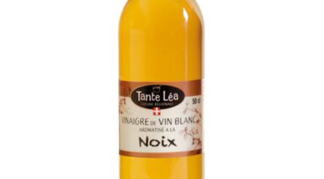 Tante Léa, Vinaigre de vin blanc aromatisé à la Noix