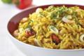 Avoines en risotto de fruits de mer à l'indienne