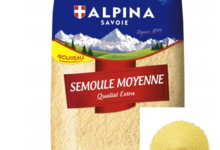 Alpina Savoie, Semoule nature moyenne