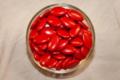 Les dragées de Provence, Dragées chocolat - Couleur rouge