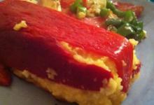 Terrine Polenta aux poivrons