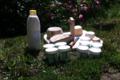 Ferme des roches fleuries, lait de la ferme