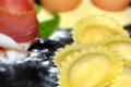 ravioli jambon cru figues