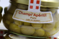 champignons de Paris cuits au vinaigre