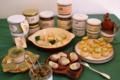 La ferme Reinach, produits à base d'escargot