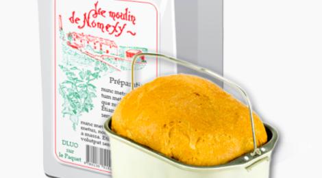 moulin de Nomexy, Préparation pour brioche au beurre