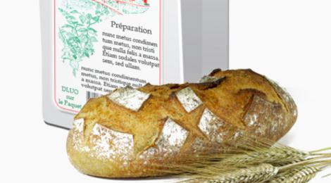 moulin de Nomexy, Préparation pour pain de campagne